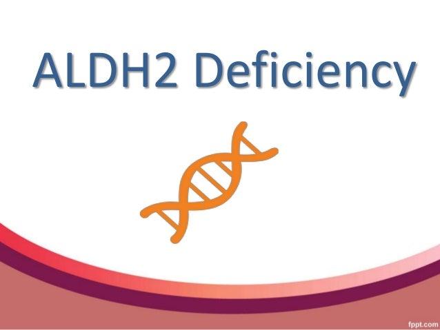 ALDH2 Deficiency
