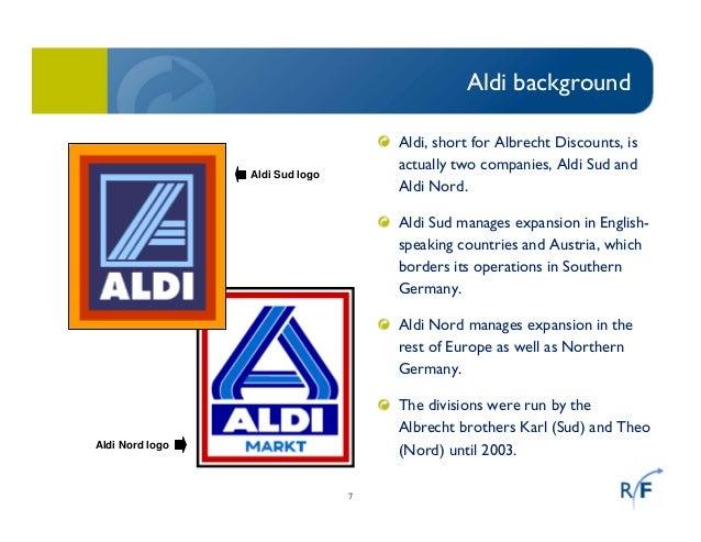 Aldi and lidl
