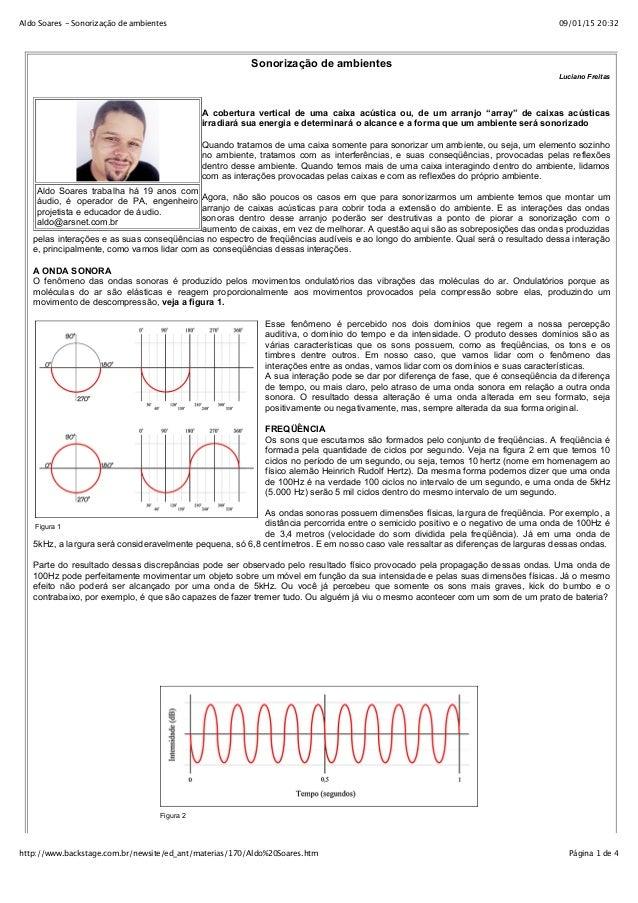 09/01/15 20:32Aldo Soares - Sonorização de ambientes Página 1 de 4http://www.backstage.com.br/newsite/ed_ant/materias/170/...