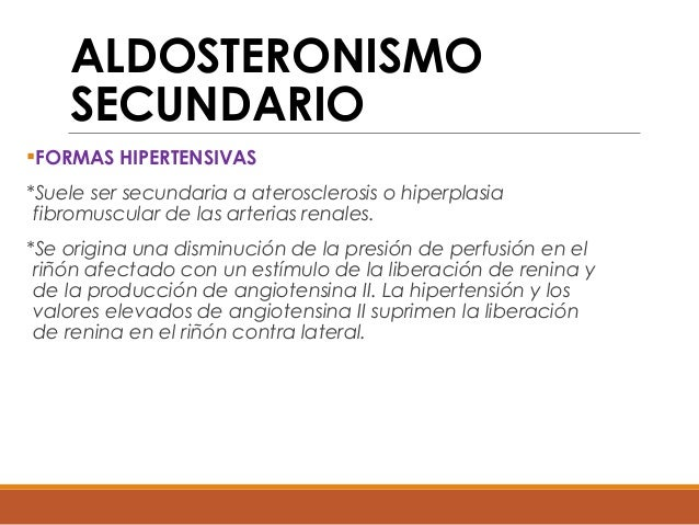 ALDOSTERONISMO SECUNDARIO PDF DOWNLOAD