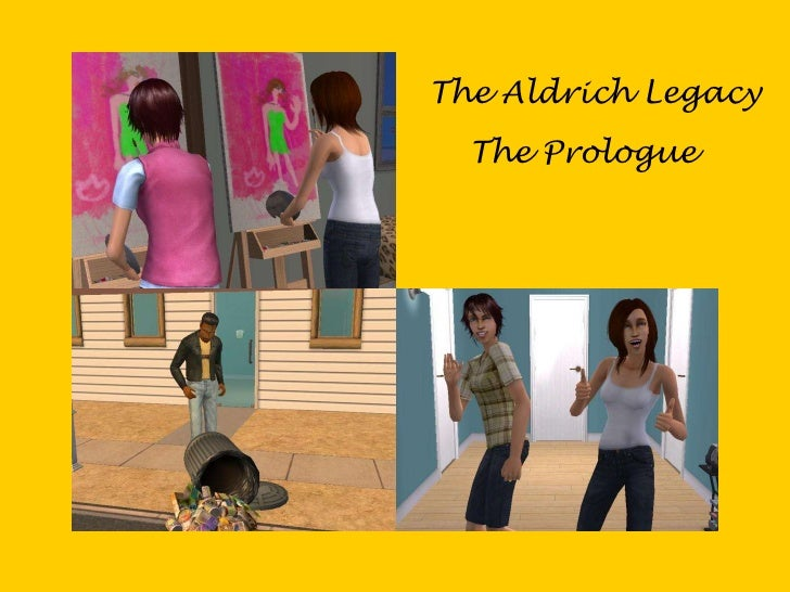 The Aldrich Legacy   The Prologue