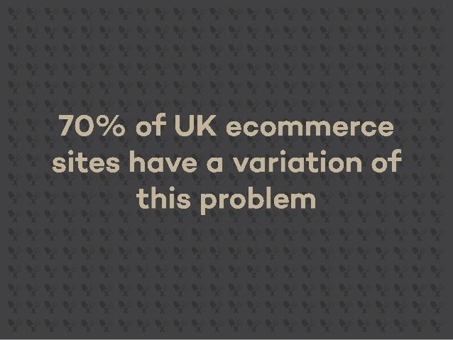 Ecommerce SEO: Boosting visibility with faceted navigation | Slides from BrightonSEO April 2015 Slide 2