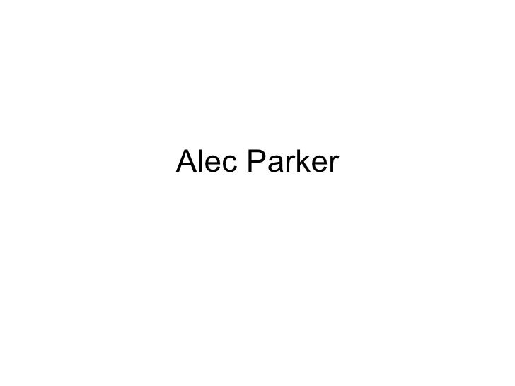Alec Parker