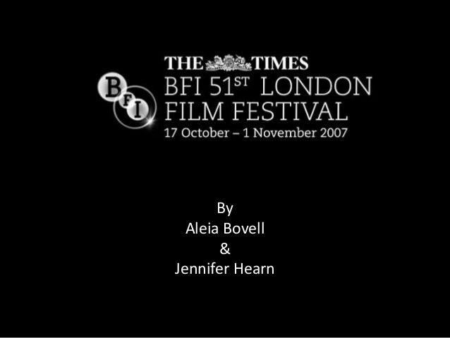 By Aleia Bovell & Jennifer Hearn
