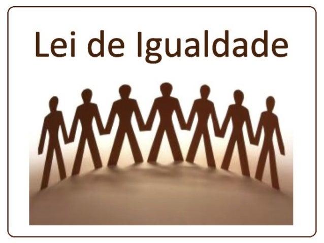 Livro Terceiro Leis Morais Capítulo IX – VIII. Lei de igualdadeVIII. Lei de igualdade q. 803 a 824.