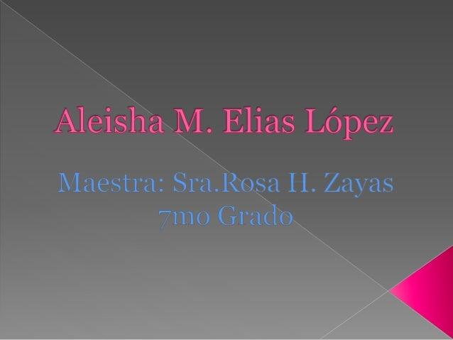 Aleisha Slide 2