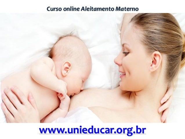 Curso online Aleitamento Maternowww.unieducar.org.br
