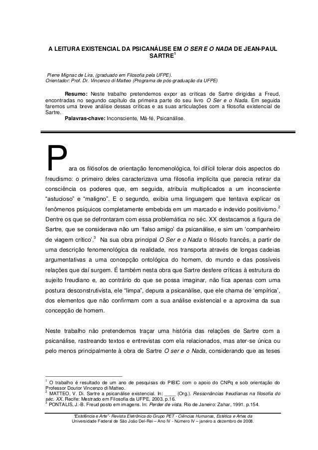 """""""Existência e Arte""""- Revista Eletrônica do Grupo PET - Ciências Humanas, Estética e Artes da Universidade Federal de São J..."""