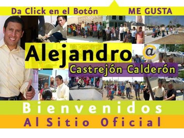 Alejandro Castrejón en Medios Sociales
