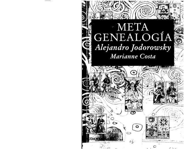 Alejandro jodorowsky   metagenealogía