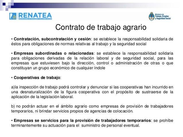 Alejandro senyk el nuevo estatuto laboral del pe n rural for Contrato laboral para empleadas domesticas