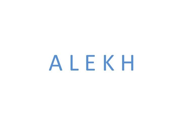 A L E K H