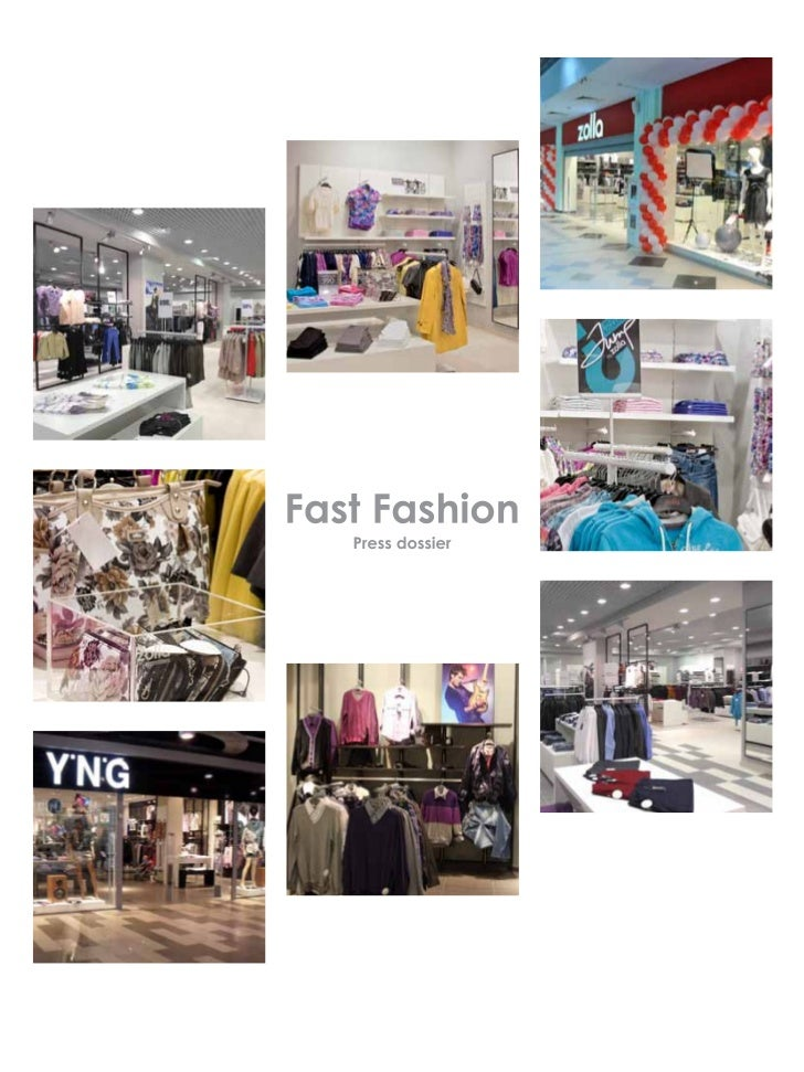 About us    Fast Fashion is one of the              The first Zolla store opened itsbiggest fashion retailers in Russia.  ...