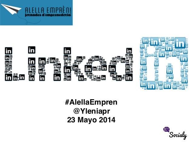 #AlellaEmpren! @Yleniapr! 23 Mayo 2014!