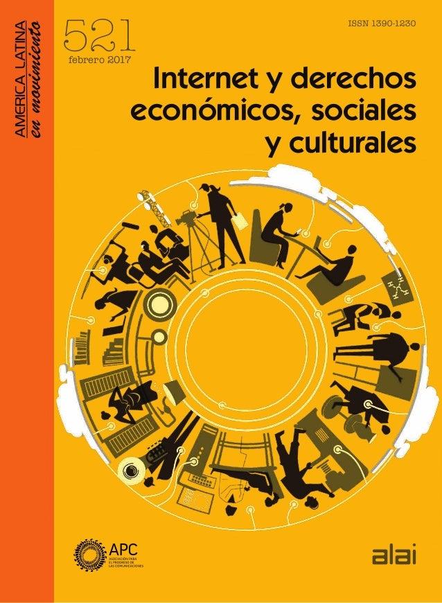 Internet y derechos económicos, sociales y culturales 521febrero 2017