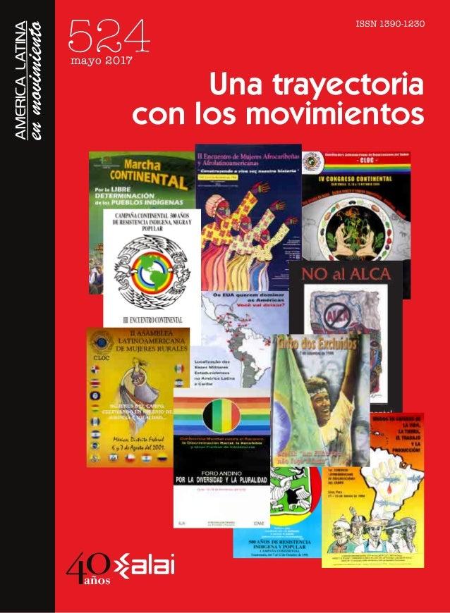 a26b70354 Una trayectoria con los movimientos América Latina en Movimiento