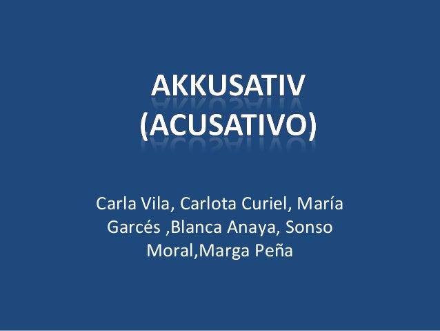 Carla Vila, Carlota Curiel, María Garcés ,Blanca Anaya, Sonso Moral,Marga Peña
