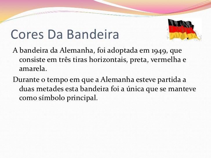 e9a34dfa94 Cores Da BandeiraA bandeira da Alemanha ...