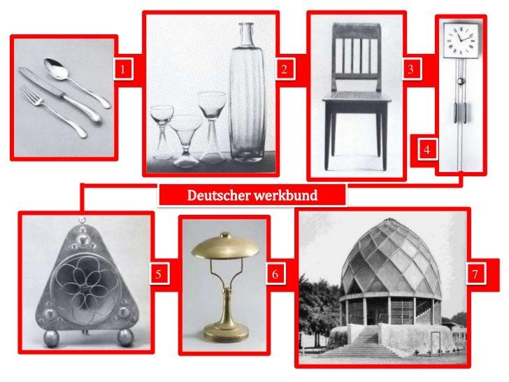 1<br />2<br />3<br />4<br />Deutscher werkbund <br />5<br />6<br />7<br />