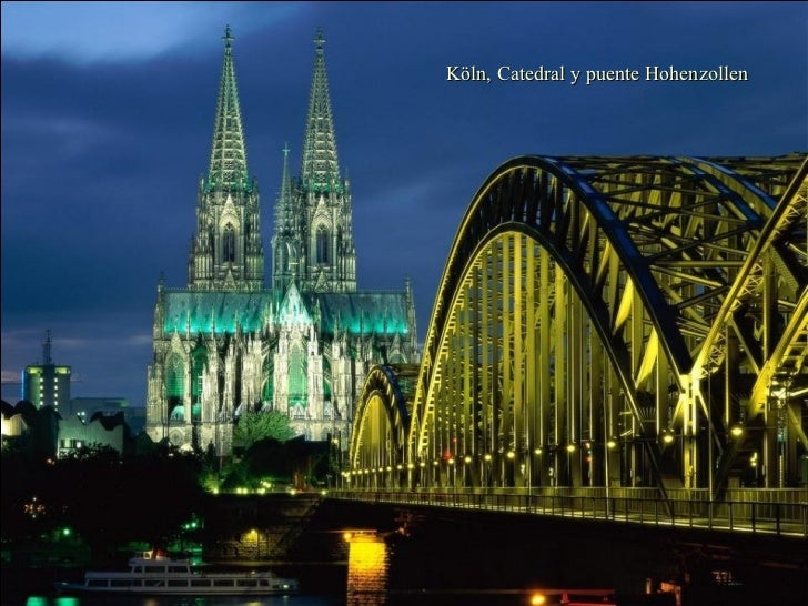 Cologne Cathedral and Hohenzollern Bridge, Cologne, Germany Köln, Catedral y puente Hohenzollen