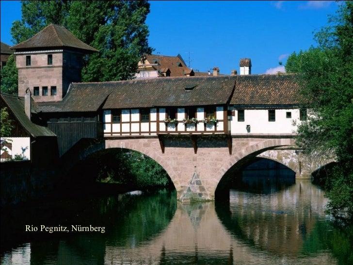 Río Pegnitz, Nürnberg