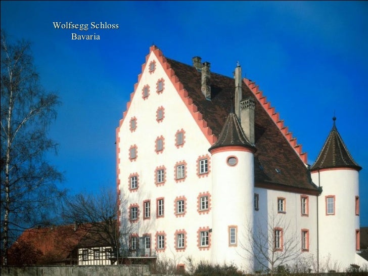 Wolfsegg Schloss Bavaria