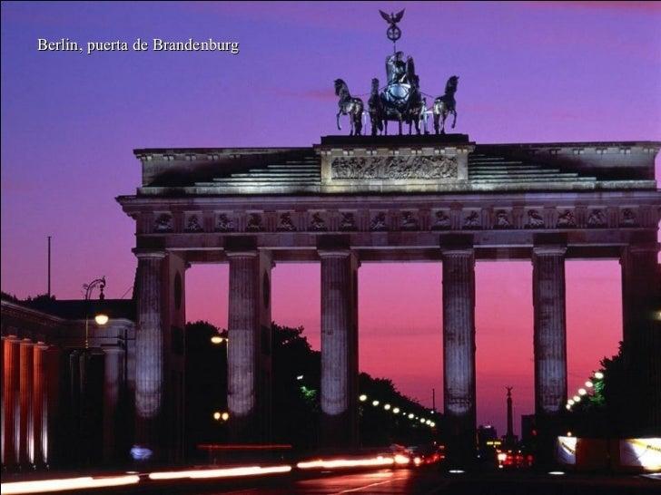 Berlin, puerta de Brandenburg