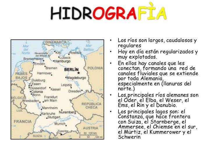 Importantes Ríos De Suiza: Alemania 1
