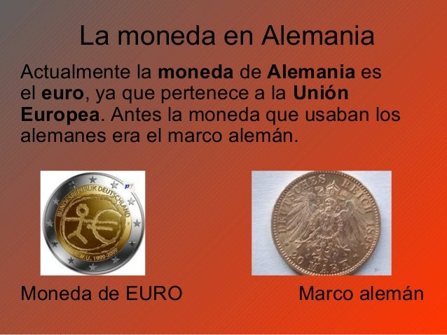 Resultado de imagen para EURO NUEVO MARCO ALEMAN