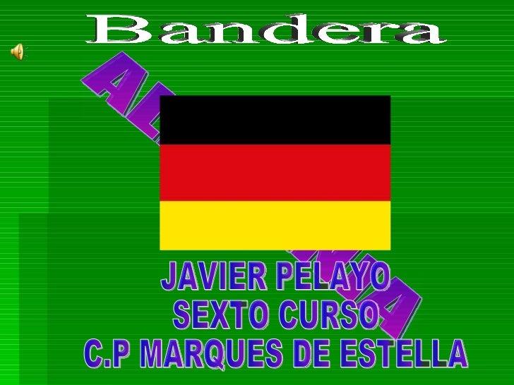 ALEMANIA JAVIER PELAYO SEXTO CURSO C.P MARQUES DE ESTELLA Bandera