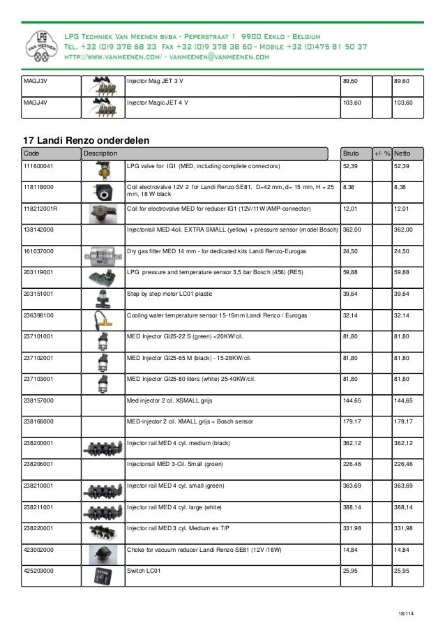 catalogue for lpg parts and lpg conversion kits rh slideshare net Landi Renzo Torrance Landi Renzo Spa