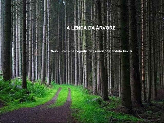 A LENDA DA ÁRVORE Neio Lúcio – psicografia de Francisco Cândido Xavier