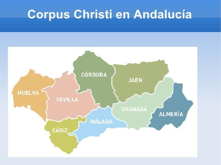 Corpus Christi en Andalucía