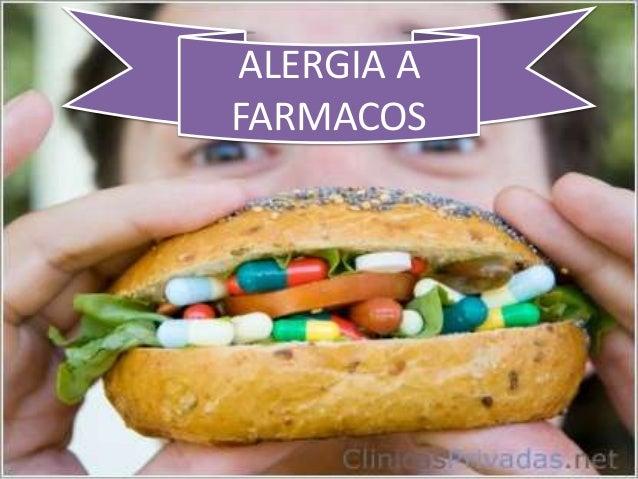 ALERGIA AFARMACOS