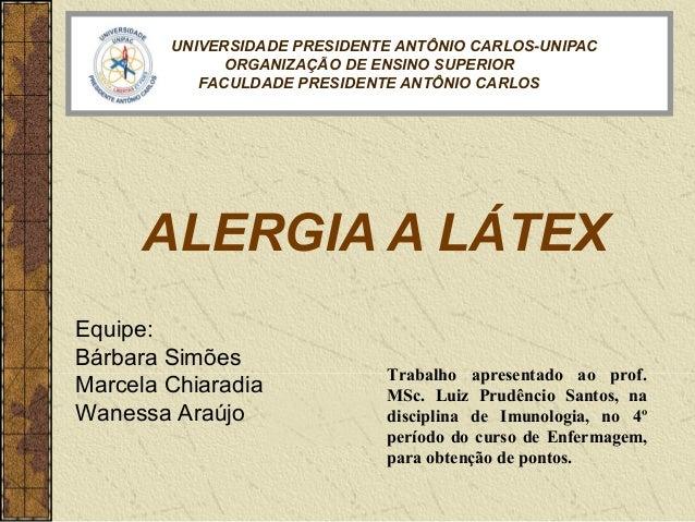 UNIVERSIDADE PRESIDENTE ANTÔNIO CARLOS-UNIPAC              ORGANIZAÇÃO DE ENSINO SUPERIOR           FACULDADE PRESIDENTE A...