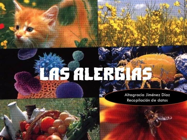 Altagracia Jiménez Díaz Recopilación de datos