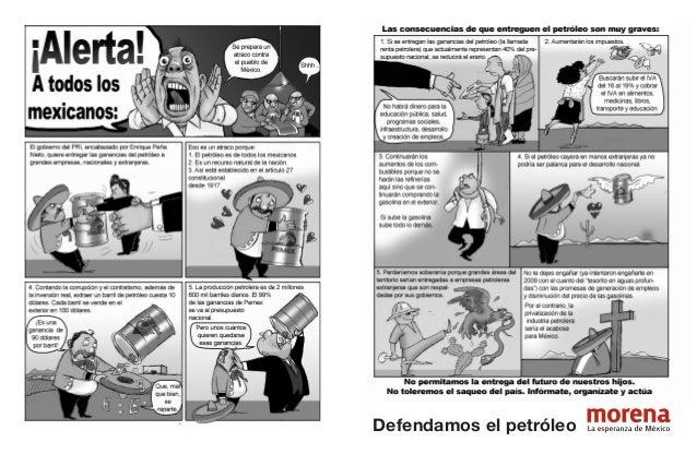 Defendamos el petróleo