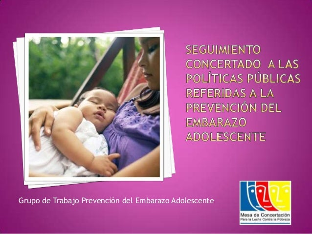 Grupo de Trabajo Prevención del Embarazo Adolescente
