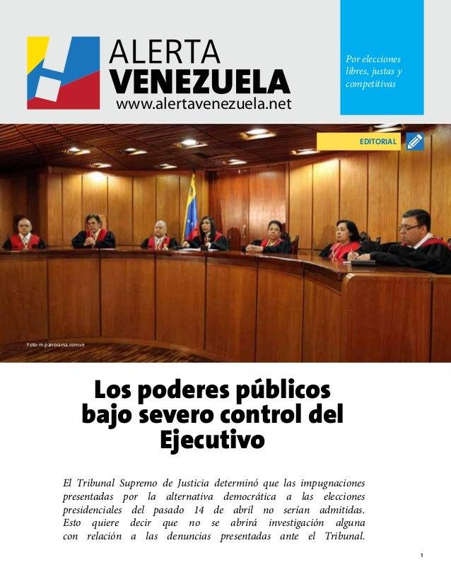 1 Por elecciones libres, justas y competitivas www.alertavenezuela.net www.alertavenezuela.net Por elecciones libres, just...