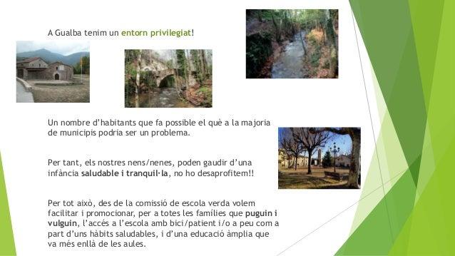A Gualba tenim un entorn privilegiat! Un nombre d'habitants que fa possible el què a la majoria de municipis podria ser un...