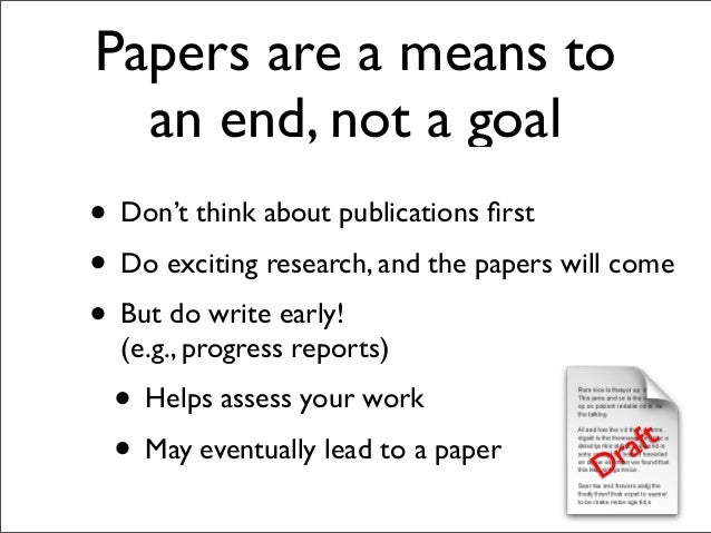 write a good term paper