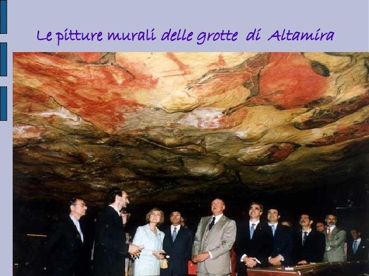 Le pitture murali delle grotte di Altamira