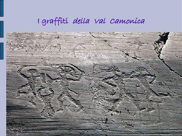 I graffiti della Val Camonica