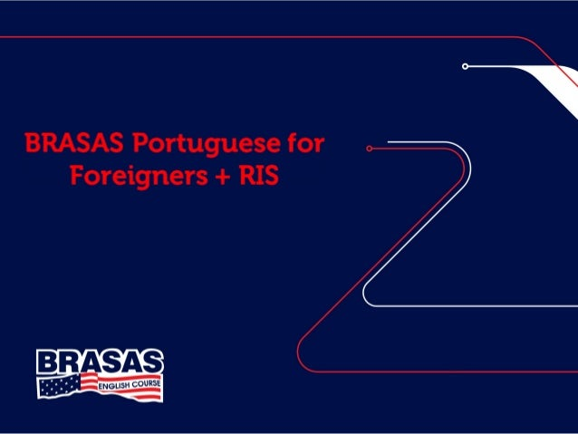 BRASAS Portuguese for  Foreigners + RIS