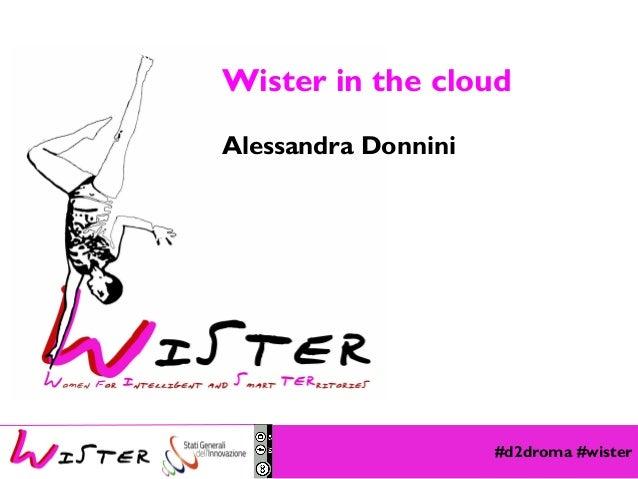 Wister in the cloud Alessandra Donnini  Foto di relax design, Flickr  #d2droma #wister