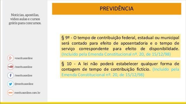 direito administrativo art 40 da cf 88068 Artigo 37 Constituicao Federal #11