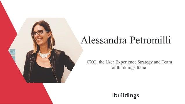 Alessandra Petromilli - VUI: Design Patterns and Challenges Slide 2