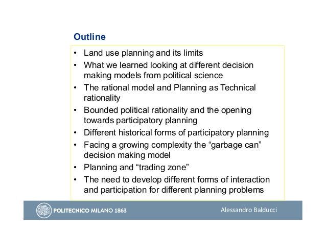 Alessandro Balducci - Planning as a Trading Zone Slide 2