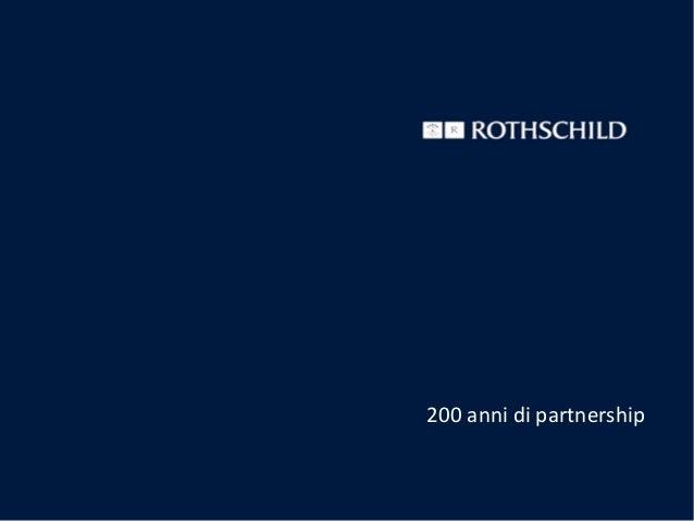200 anni di partnership