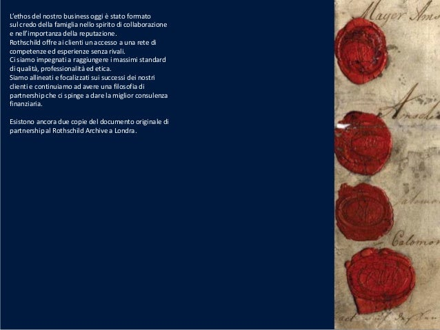 Alessandro Daffina - Rothschild festeggia 200 anni Slide 3